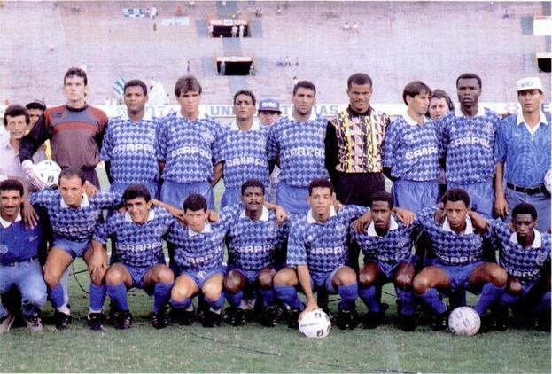 Goiatuba campeão goiano 1992