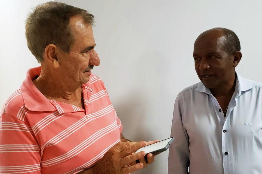 Léo Mendanha e Marlúcio Pereira | Foto: Reprodução