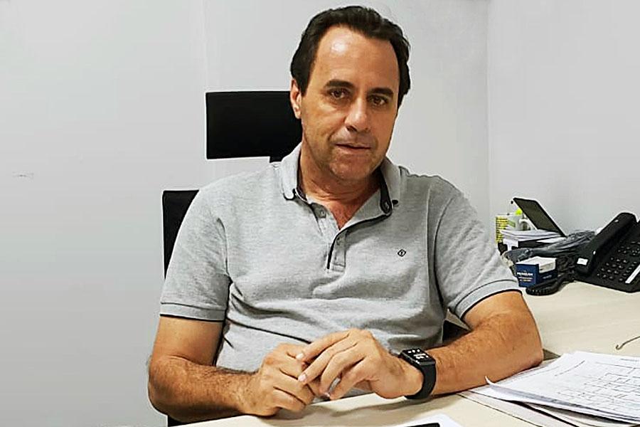 Vice prefeito de Aparecida de Goiânia Veter Martins | Foto: Folha Z