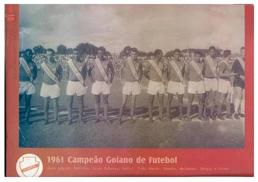 Vila Nova campeão goiano 1961