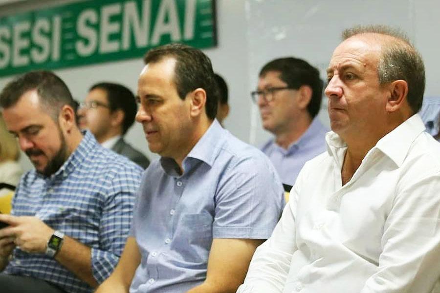 Gustavo Mendanha, Veter Martins e Vilmar Mariano | Foto: Divulgação