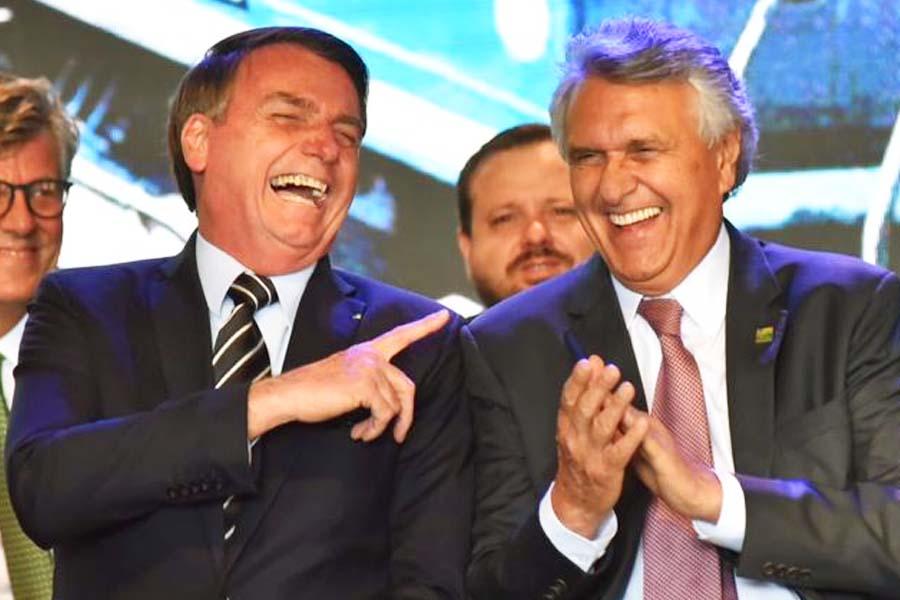 Jair Bolsonaro e Ronaldo Caiado | Foto: Divulgação