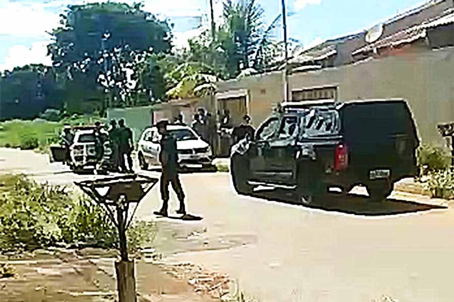 PM não confirmou ocorrências de assaltantes disfarçados de agentes de saúde em Aparecida | Foto: Reprodução / Redes Sociais