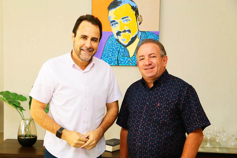 Veter Martins é o prefeito em exercício de Aparecida após retornar de licença médica, quando a posição foi ocupada por Vilmar Mariano | Foto: Enio Medeiros