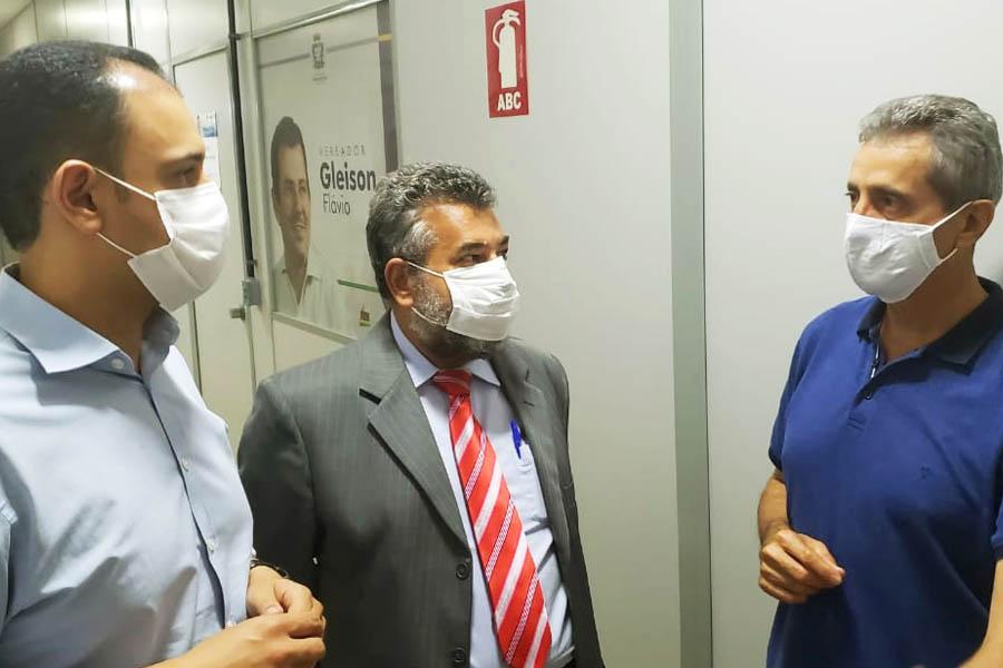 Advogado Dário Silva também participou da reunião entre Salim e Ozair | Foto: Folha Z