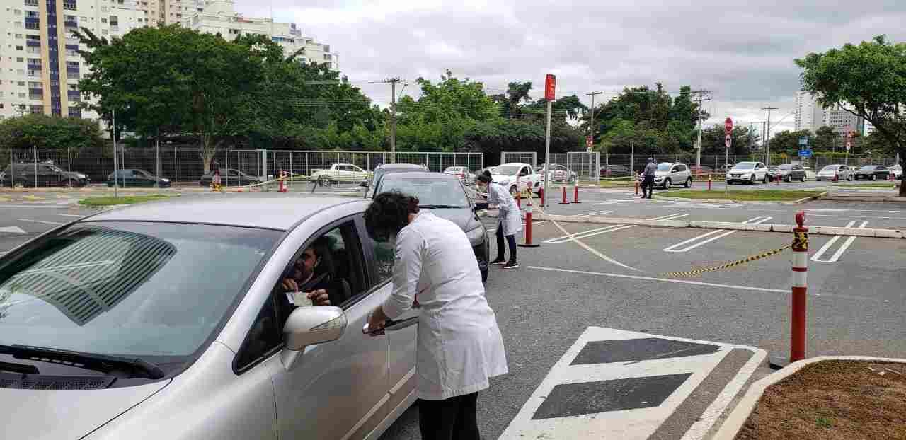 vacinação gripe Goiania