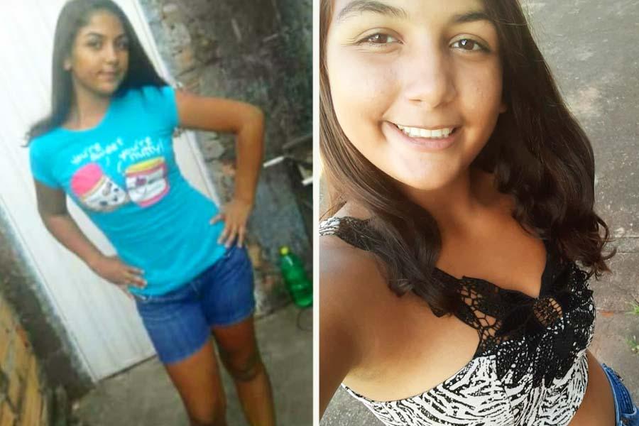 Menina de 14 anos está desaparecida desde as 13h da última 2ª feira (4) em Aparecida   Foto: Arquivo Pessoal