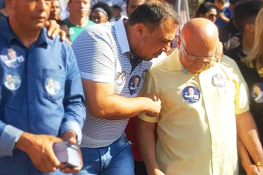 André Fortaleza e Professor Alcides durante campanha em 2018 | Foto: Reprodução/Instagram