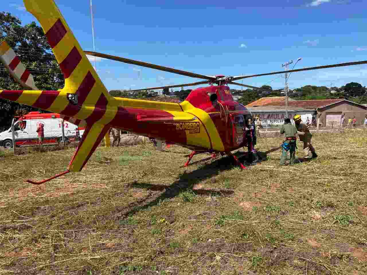 Bombeiros helicóptero Goiânia