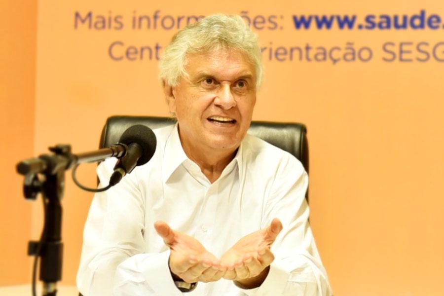 Ronaldo Caiado | Foto: Divulgação/Governo de Goiás