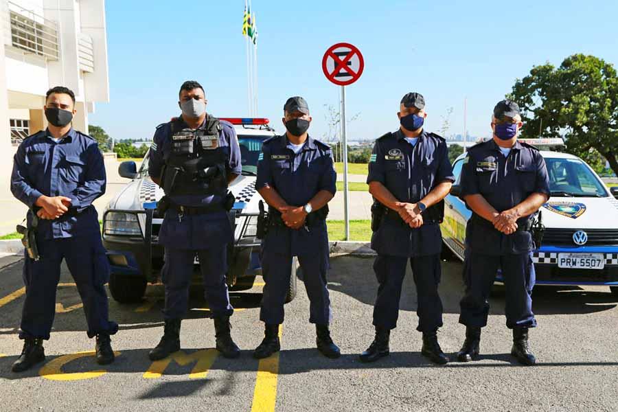 GCM integra força-tarefa de fiscalização em Aparecida | Foto: Enio Medeiros