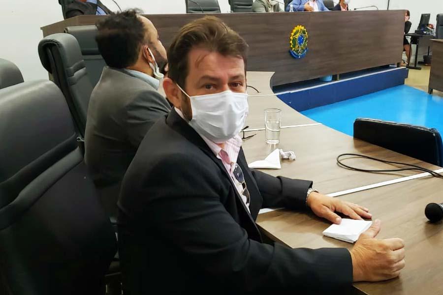 Gleison Flávio (MDB) | Foto: Folha Z