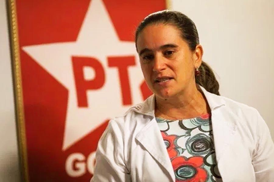 Kátia Maria, presidente do PT Goiás | Foto: Divulgação