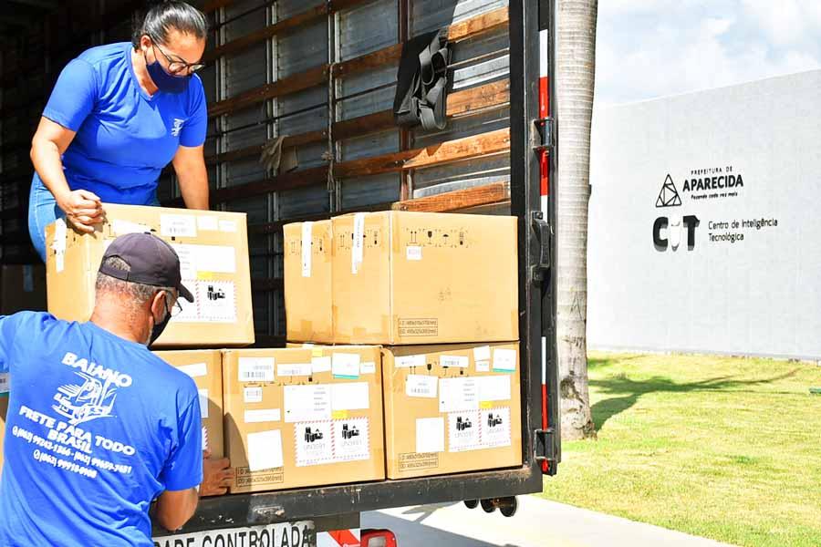 Respiradores e monitores vão equipar leitos do HMAP | Foto: Rodrigo Estrela