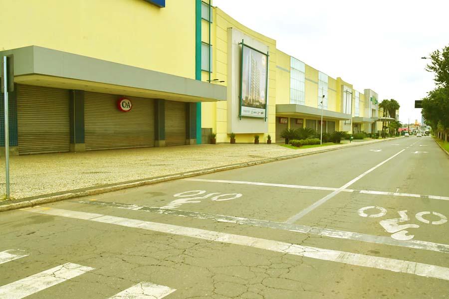 Buriti Shopping, na Avenida Rio Verde | Foto: Claudivino Antunes