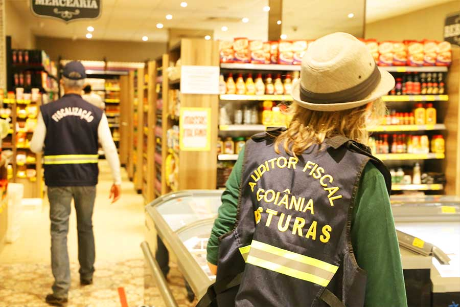 Fiscalização da covid-19 fechou 239 estabelecimentos que não estavam autorizados a funcionar em Goiânia   Foto: Divulgação/Prefeitura