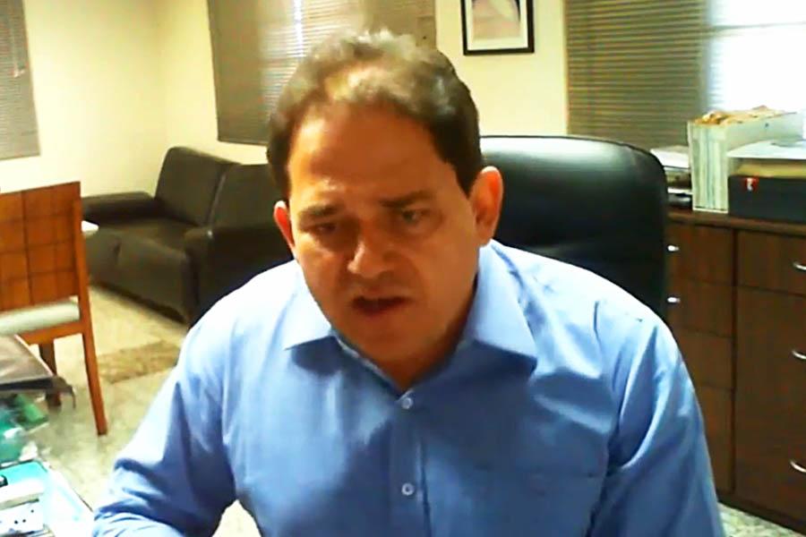 Presidente da Federação do Comércio de Goiás (Fecomércio-GO), Marcelo Baiocchi | Foto: Reprodução/Facebook