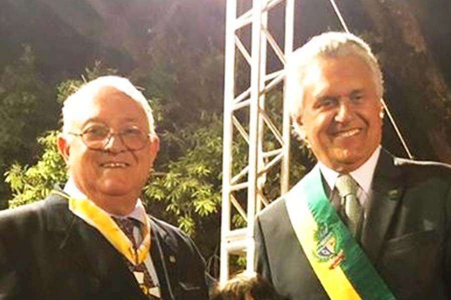Hugo Goldfeld e Ronaldo Caiado | Foto: Divulgação