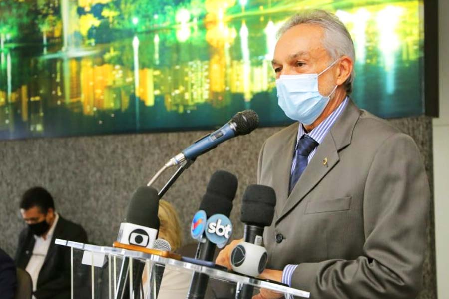 Secretário municipal de Governo e presidente do Gabinete de Gestão de Crise Covid-19, Paulo Ortegal   Foto: Divulgação/Prefeitura