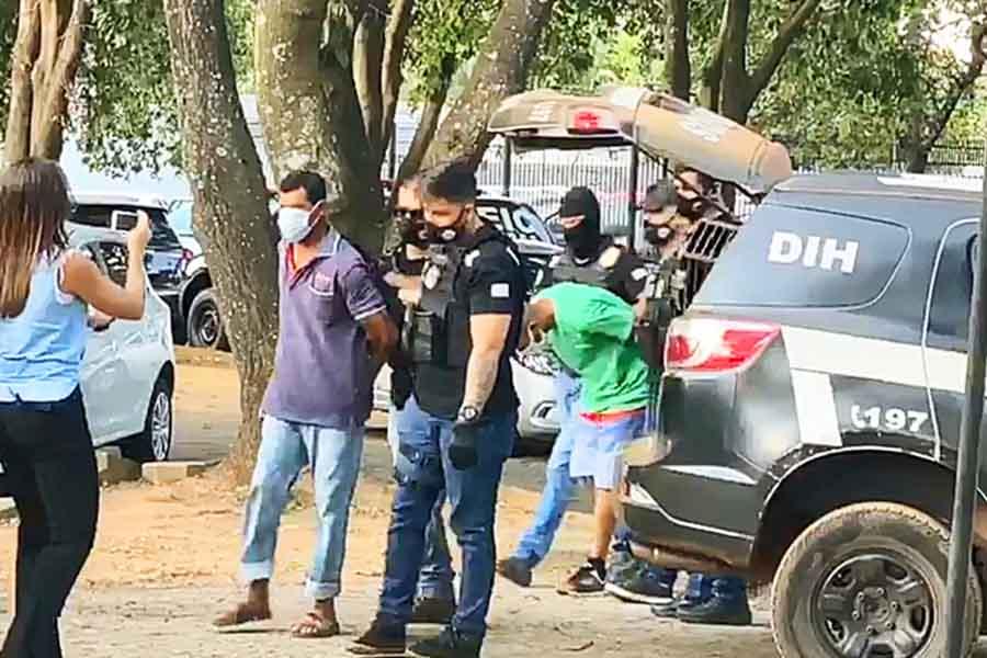 PC apresentou dupla suspeita da morte de Danilo Silva no dia 31 de julho | Foto: Reprodução