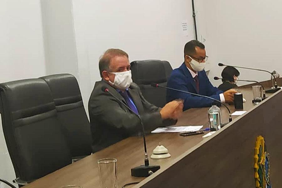Presidente da Câmara Municipal de Aparecida, Vilmar Mariano, foi diagnosticado com covid-19 | Foto: Reprodução