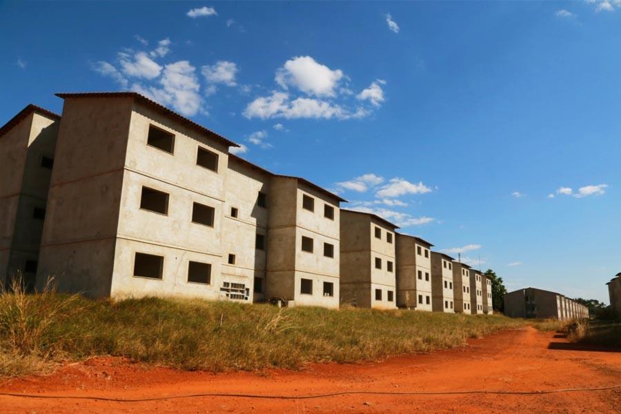 Convênio visa finalizar obras do Minha Casa Minha Vida no Chácara São Pedro, em Aparecida   Foto: Divulgação