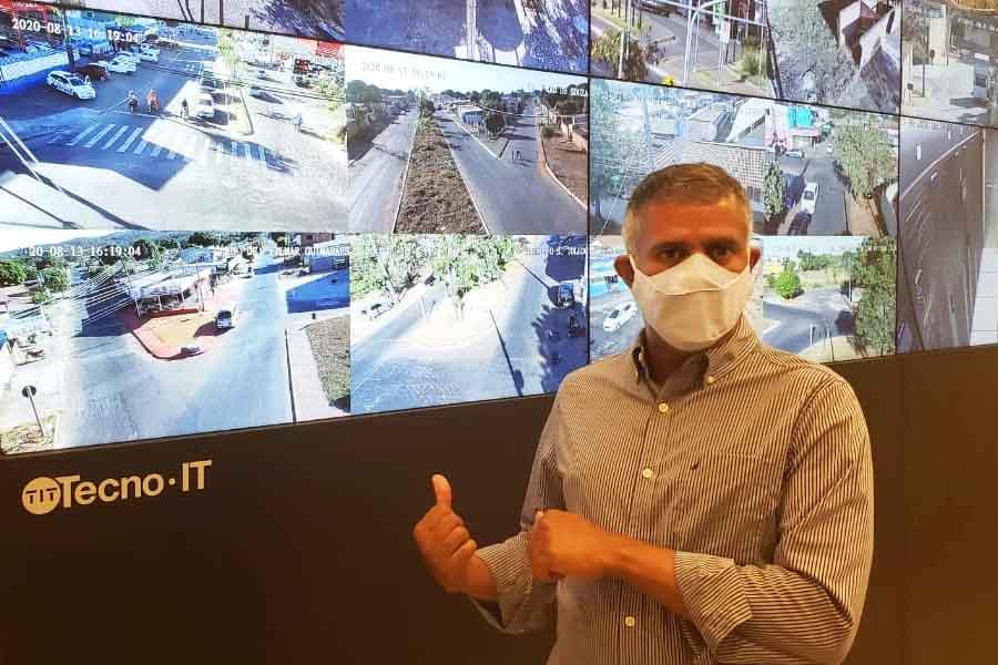 650 câmeras espalhadas pela cidade são interligadas ao Centro de Inteligência | Foto: Folha Z
