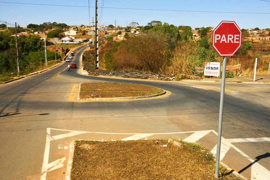 Divisa entre setores Veiga Jardim e Terra Prometida receberá a construção de uma ponte | Foto: Claudivino Antunes