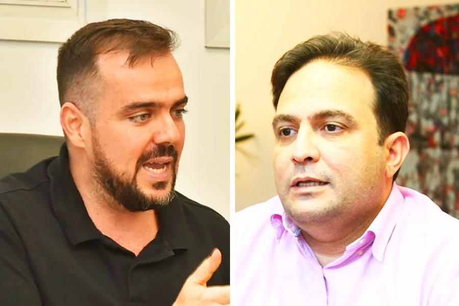 Gustavo Mendanha e Roberto Naves | Fotos: Rodrigo Estrela e Reprodução