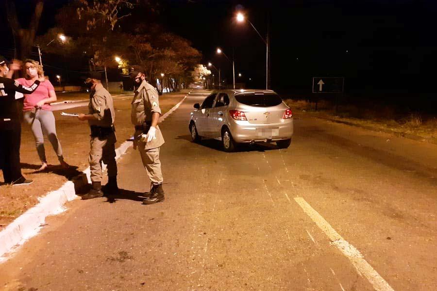 Motociclista perde o controle da direção e morre em acidente na Avenida Rio Verde, em frente à Cidade Empresarial   Foto: Divulgação/DICT