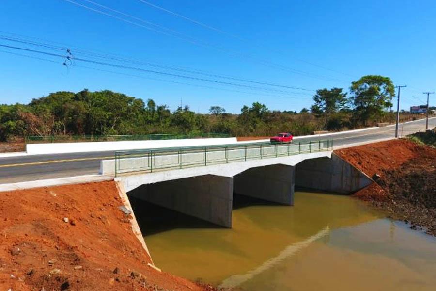 Prefeitura entrega a ponte sobre o Córrego Taquaral, no Bairro Goiá | Foto: Divulgação