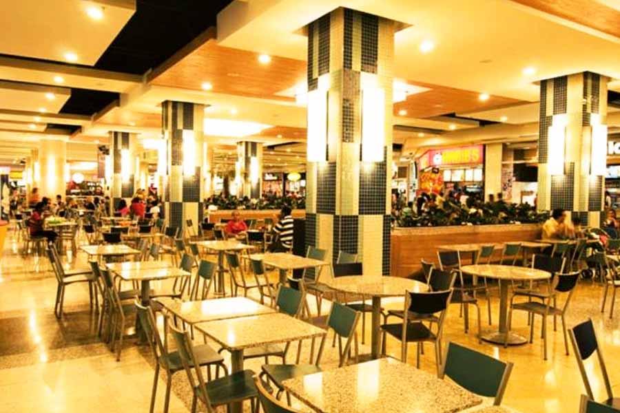 Regras para praças de alimentação de shopping são flexibilizadas em Aparecida | Foto: Divulgação/Buriti Shopping