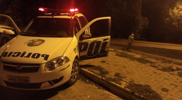 arma do crime estuprador preso CPP