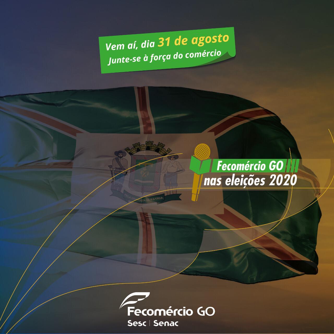 Fecomércio Goiás começa nesta segunda-feira, 31, série de websabatinas com pré-candidatos a prefeito de Goiânia | Foto: Divulgação