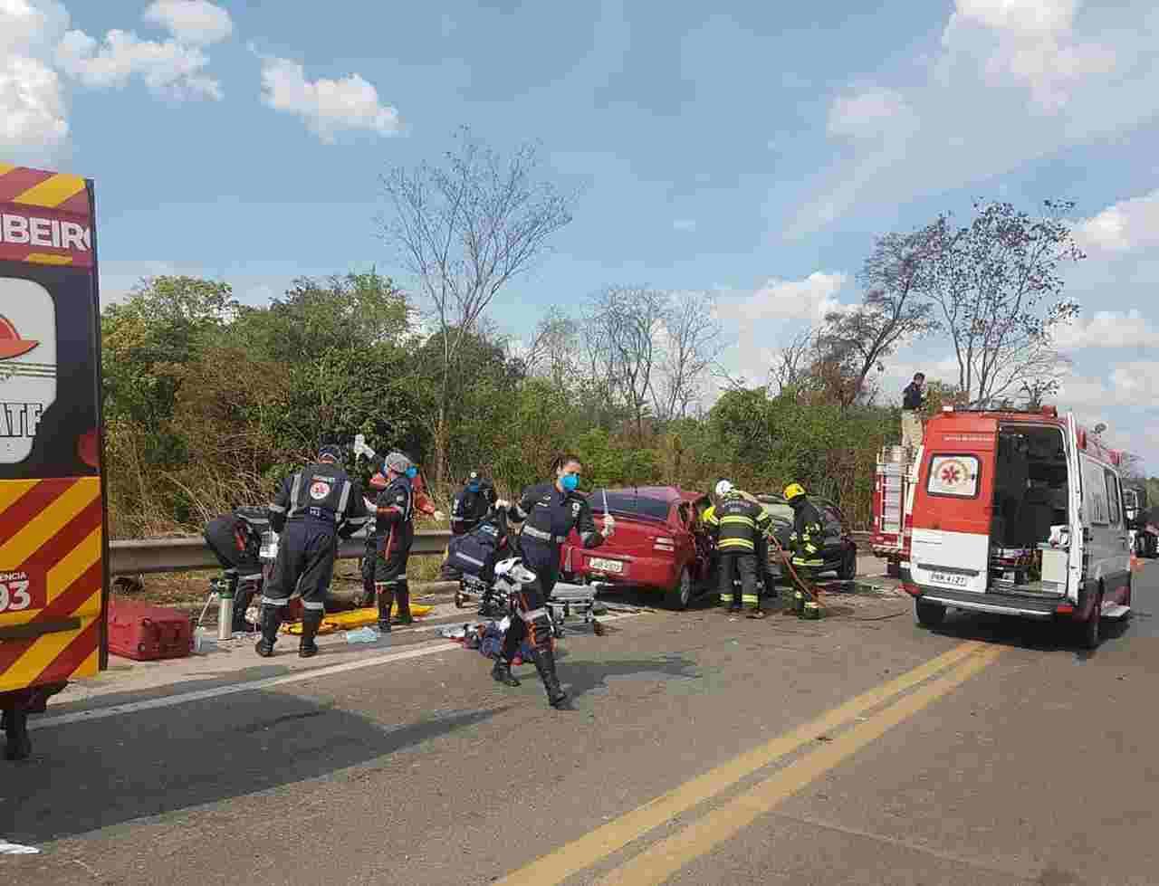 acidente grave BR-153 Porangatu
