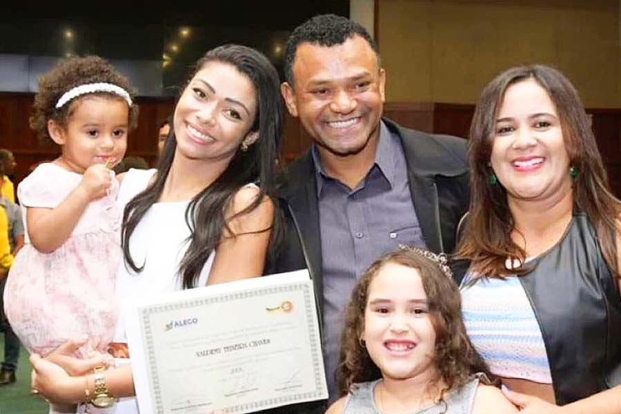 Cleide Neves e família | Foto: Reprodução