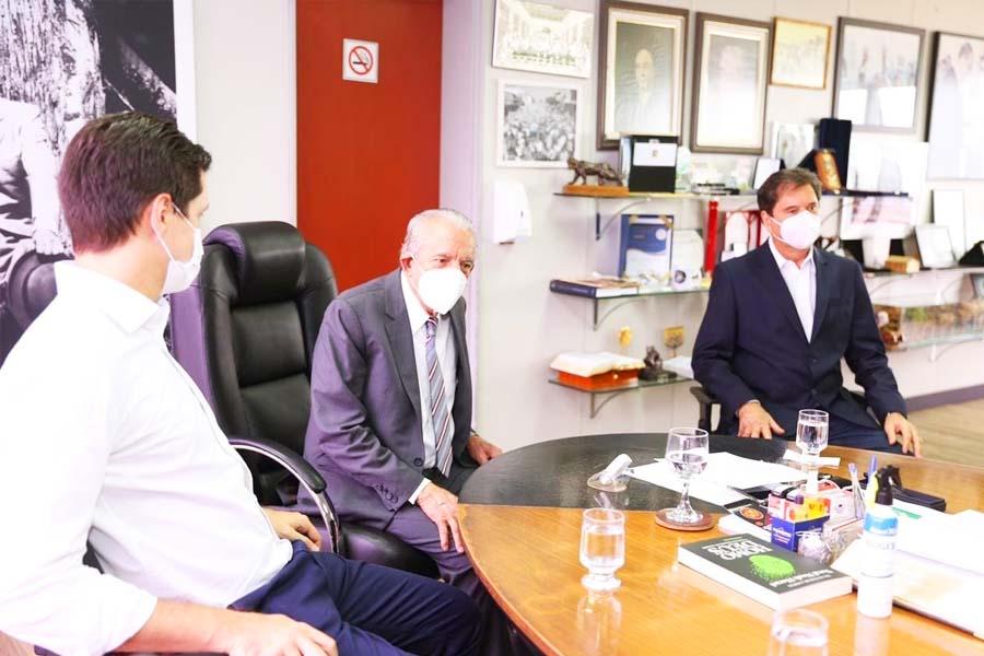 Daniel Vilela, Iris Rezende e Maguito Vilela | Foto: Divulgação