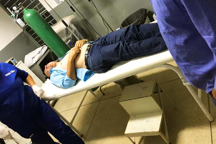 Marcos do Sinias sofreu atentado em Goianápolis nesta 3ª (1) | Foto: Reprodução