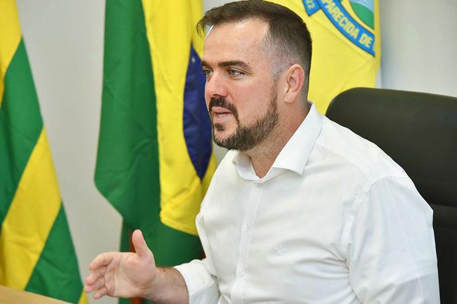 Prefeito Gustavo Mendanha | Foto: Reprodução