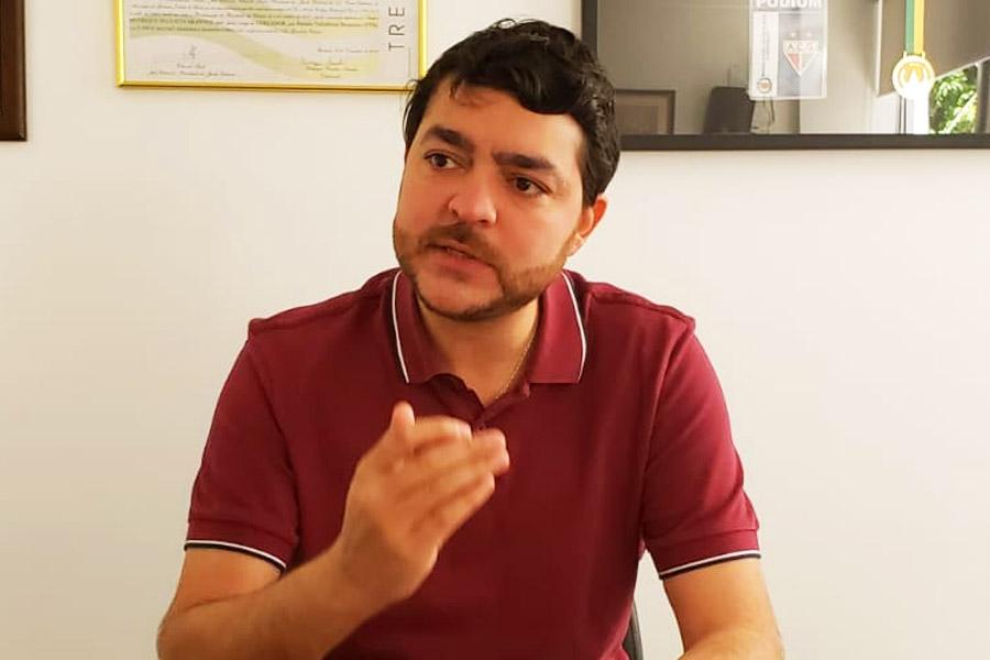 Deputado estadual Henrique Arantes | Foto: Folha Z