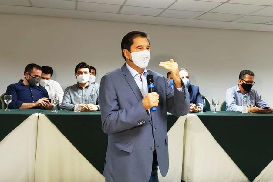 Lançamento oficial da pré-candidatura de Maguito Vilela a prefeito de Goiânia pelo MDB | Foto: Folha Z