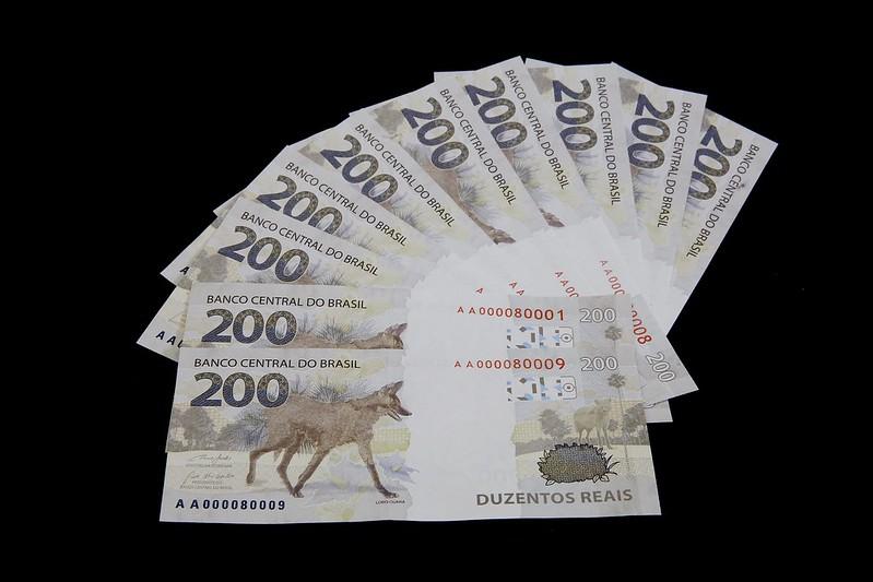 Banco Central apresenta nova cédula de R$ 200 | Foto: Ilustrativa