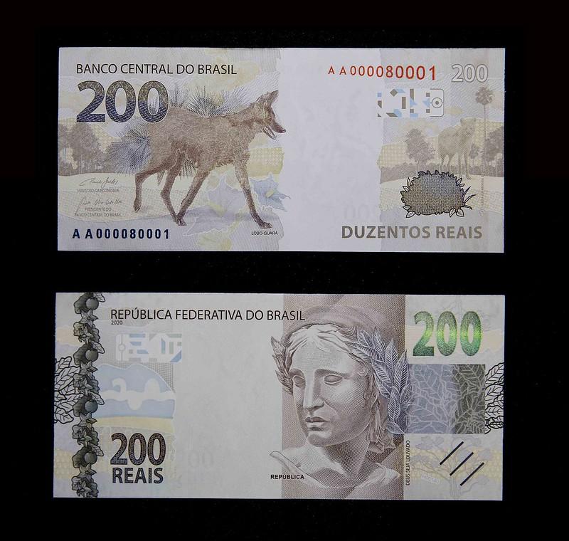 Banco Central apresenta nova cédula de R$ 200   Foto: Ilustrativa