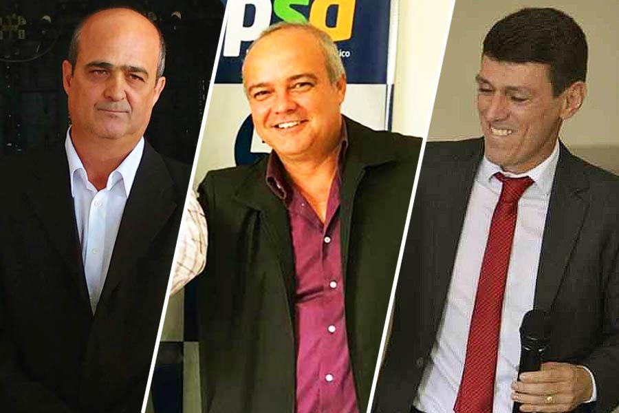 Ronaldo Coelho, Divino Ajax e Claudio Everson | Foto: Montagem / FZ