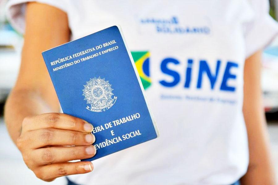 Vagas de emprego em Goiânia são ofertadas pelo Sine   Foto: Divulgação