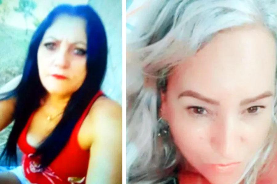 Cleide Cavalcante e Simone Garcia foram encontradas mortas dentro de cisterna de motel em Caiapônia | Fotos: Arquivo Pessoal