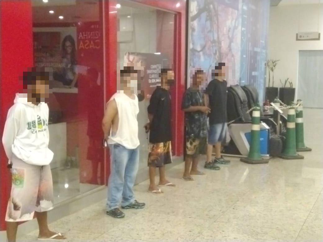 briga generalizada shopping torcedores
