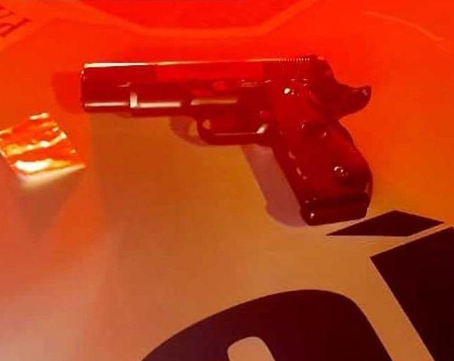 homem usou arma falsa em motorista app Aparecida