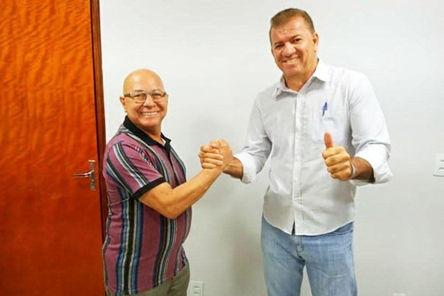 Professor Alcides e Gilsão Meu Povo | Foto: Reprodução