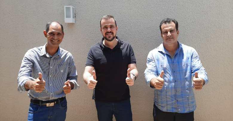 Wegney Costa, Gustavo Mendanha e Paulo Daher | Foto: divulgação